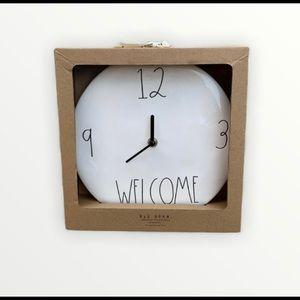 ⚡️FLASH SALE⚡️ NWT Rae Dunn welcome clock 🕰